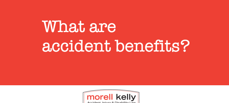 What are accident benefits?