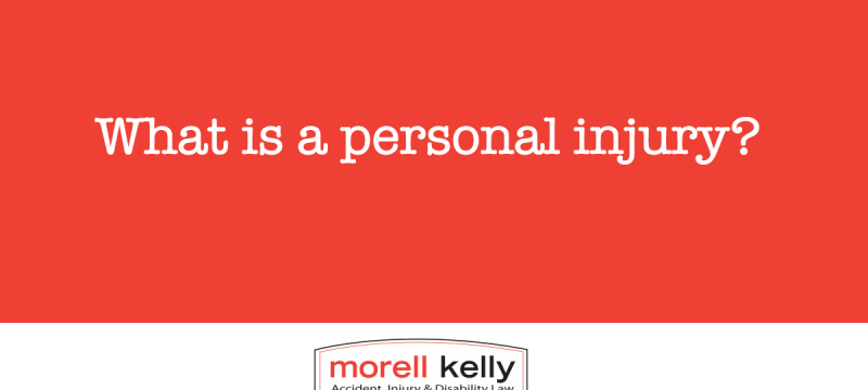 What is a personal injury?