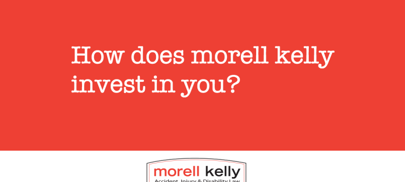 How does Morell Kelly invest in you?