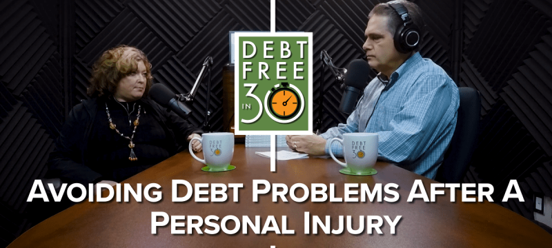 Avoiding Debt Problems After A Personal Injury